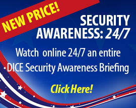Online DICE Security Awareness Briefing
